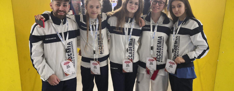 Taekwondo D'Alessandro, ancora medaglie per gli atleti irpini a Busto Arsizio