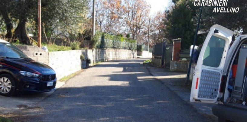 Fuga di gas a Paternopoli, paura in via Serra. Strada chiusa al traffico