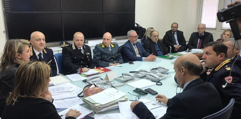 Incidenti, tavolo operativo in Prefettura: in Irpinia numeri in lieve diminuzione