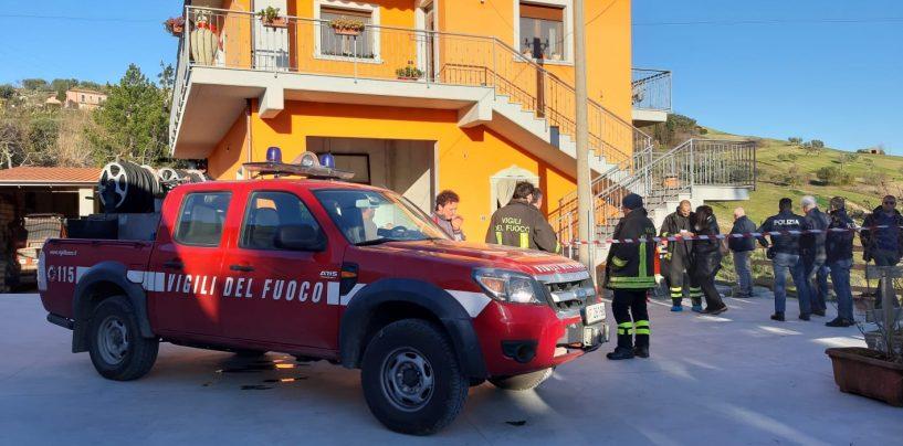 Tragedia nella periferia di Ariano: abitazione a fuoco, muore anziana