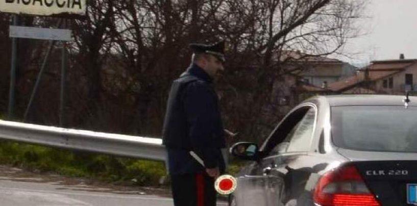 Beccato al volante di un'auto rubata, denunciato 50enne