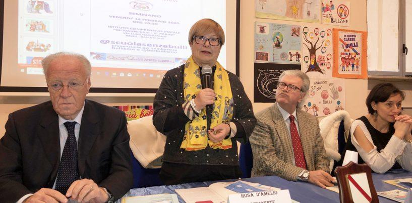 """D'Amelio: """"Bullismo in crescita in Campania. Doveroso incontrare gli studenti per informarli"""""""