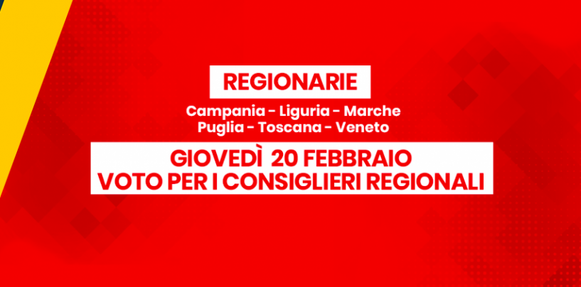Regionarie a 5 Stelle: si vota oggi dalle 10 alle 19 sulla piattaforma Rousseau