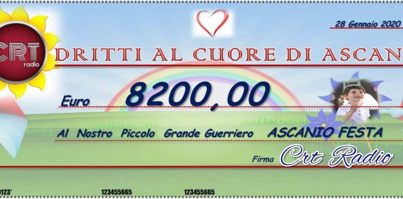 """""""Lotteria della Solidarietà"""": oltre 8mila euro raccolti per il piccolo Ascanio Festa"""