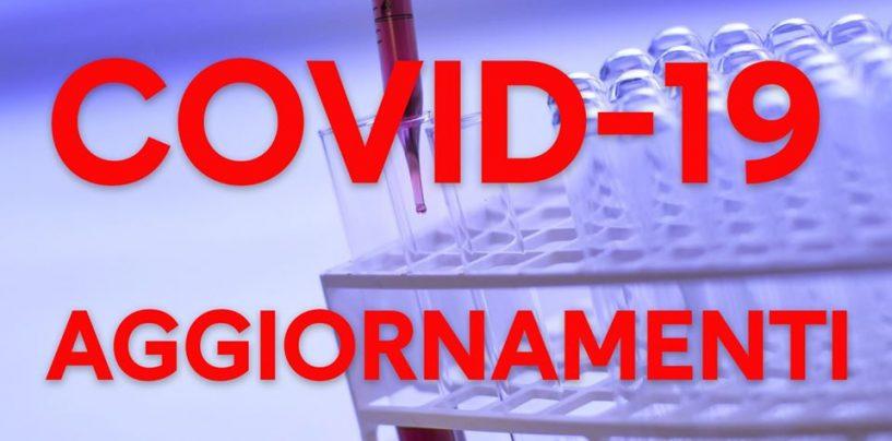 Coronavirus, il dato nazionale di oggi suddiviso per regioni