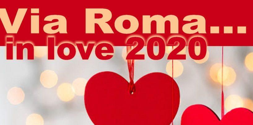 Via Roma in love: ad Atripalda luminarie per gli innamorati