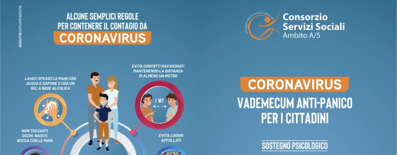 Coronavirus, dal Consorzio Servizi Sociali un sostegno psicologico