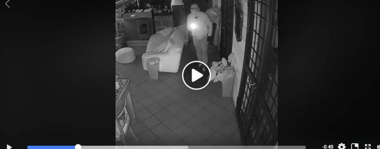 Ospedaletto, ladri in azione: ripresi e postati su facebook
