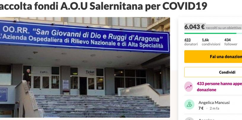 """Emergenza Coronavirus, raccolta fondi per aiutare l'ospedale """"San Giovanni di Dio-Ruggi d'Aragona"""""""