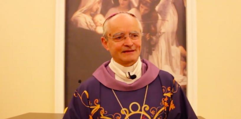 VIDEO/ Il messaggio del vescovo Aiello alla comunità in vista della Pasqua