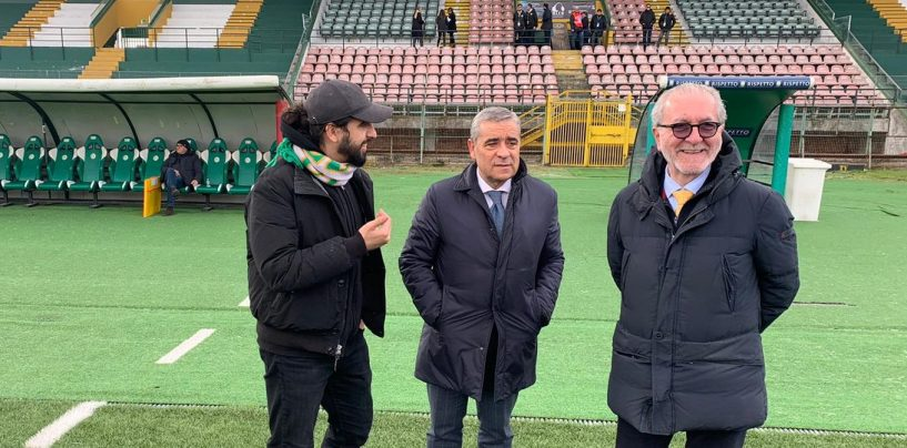 """Il segnale di Ghirelli al Partenio: """"Rispondiamo giocando, io sereno con D'Agostino"""""""