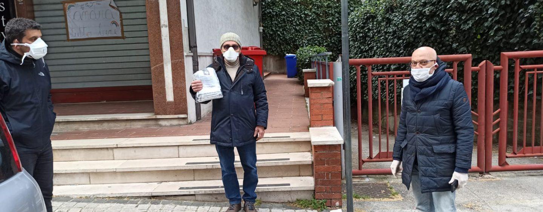FOTO / Covid-19, il Parco del Partenio consegna 1.000 mascherine ai Comuni della zona