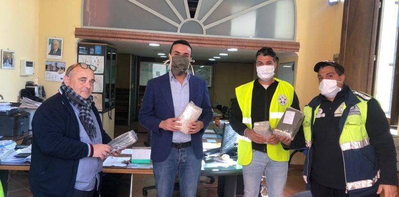 Mandamento, imprenditori solidali: Pannone regala 1.000 mascherine