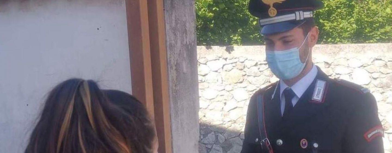 """Il """"Carducci"""" di Nola devolve 7 tablet agli studenti del Vallo: consegna a domicilio dei carabinieri"""