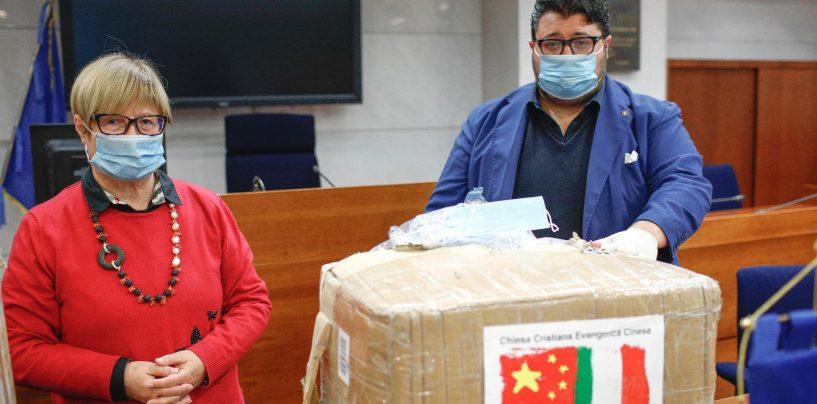 """Ariano Irpino, la Chiesa evangelica cinese in Italia dona tre camere di isolamento per il """"Frangipane"""""""