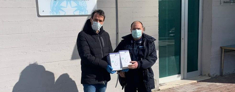 Il gesto di Maraia: mascherine alla polizia penitenziaria di Ariano Irpino