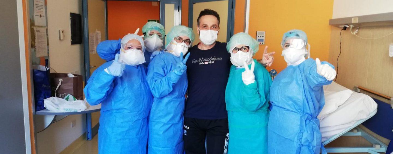 Buone notizie dal Moscati: Pasqua a casa per un operatore del 118 guarito dal virus