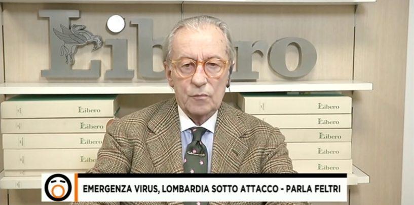 """Feltri si dimette da giornalista, l'Ordine della Campania: """"Vittoria per l'informazione pulita"""""""