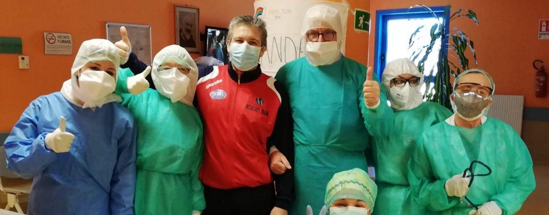 Covid-19 ancora ko al Moscati: è guarito un operato del 118