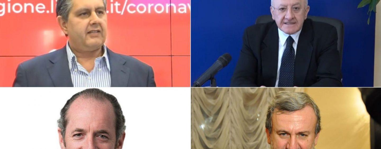 Regionali, da De Luca a Zaia: allargare finestra voto a luglio