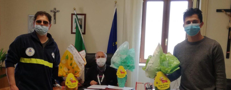 Pasqua solidale a Montefusco: uova di cioccolato regalate ai bambini