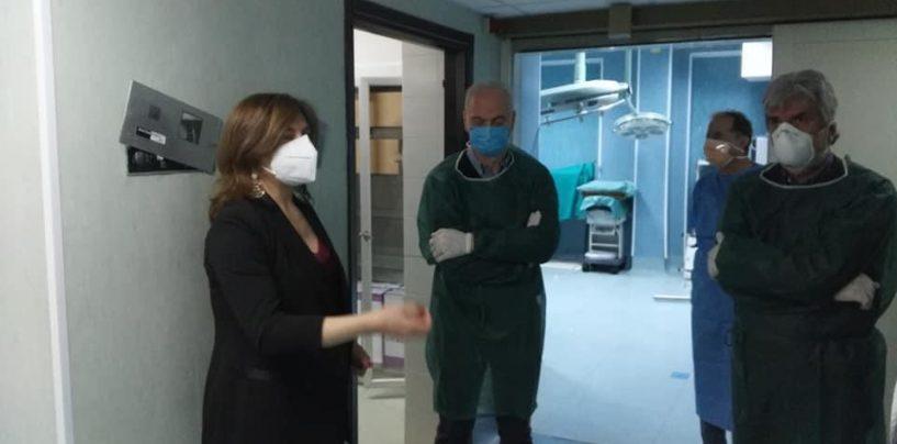 """In arrivo fondi per il """"Frangipane"""", Morgante: """"Ospedale potenziato grazie a Regione e Asl"""""""