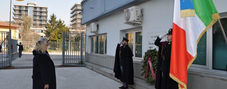 FOTO/ 168° anniversario della Polizia di Stato, cerimonia simbolica alla Questura di Avellino