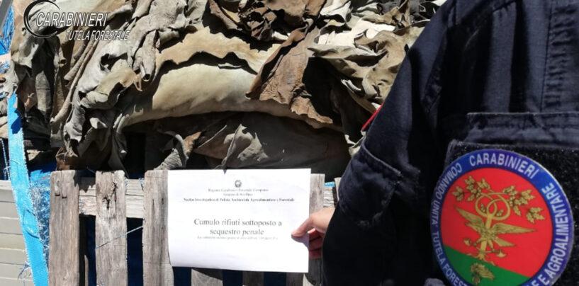 Solofra, inquinamento ambientale: denunciati i titolari di cinque concerie