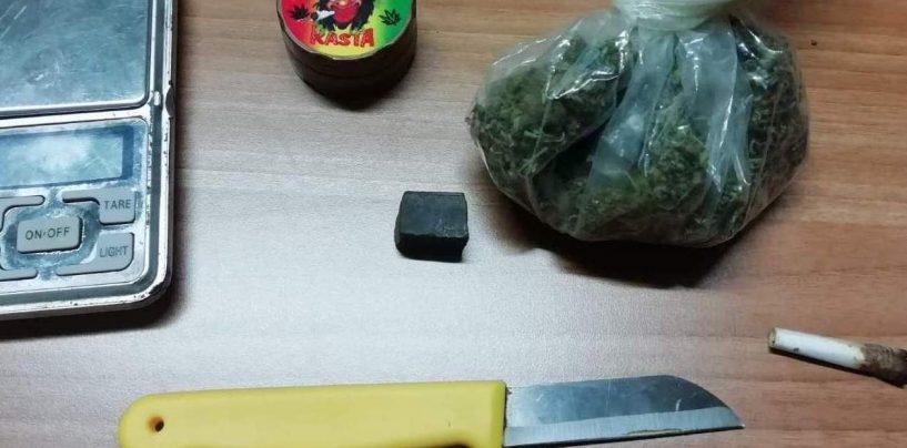 Spaccio di droga nel pieno centro di Montoro: denunciato 30enne. Segnalata studentessa
