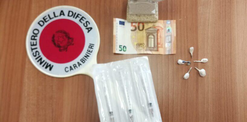 Arrestato pusher mentre effettuava lo scambio eroina-soldi