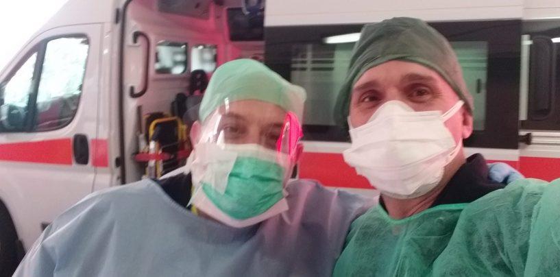 """Dall'ospedale di Solofra ai reparti Covid del nord, la testimonianza di un infermiere irpino nella task-force: """"Sarò sempre al servizio della Nazione"""""""