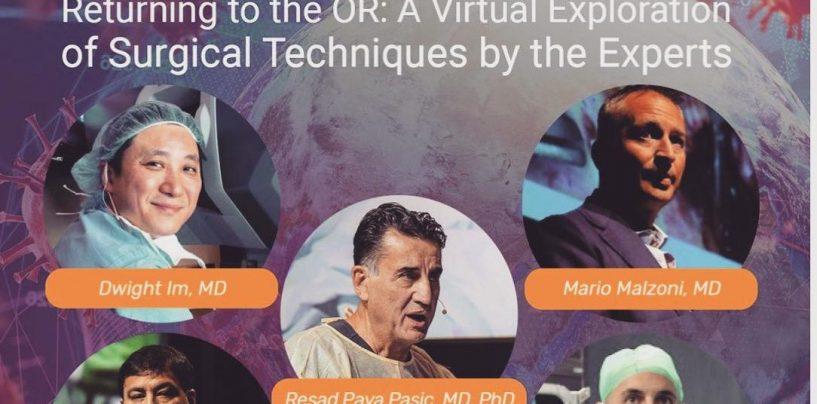 Webinar internazionale sulla ripresa delle attività chirugiche, parola a 5 esperti: c'è anche Mario Malzoni
