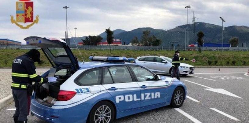 Casello Napoli Nord, 60 viaggiatori controllati: 14 positivi ai test rapidi