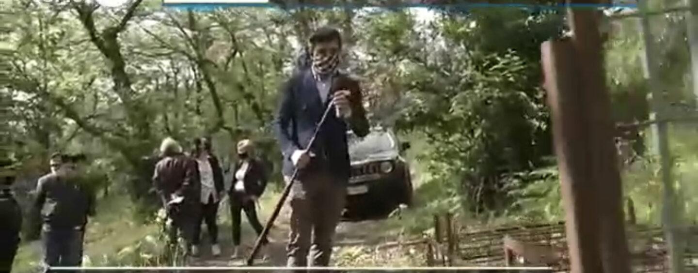 Pantera a Summonte: anche Mattino Cinque sulle tracce del felino. Guarda il video