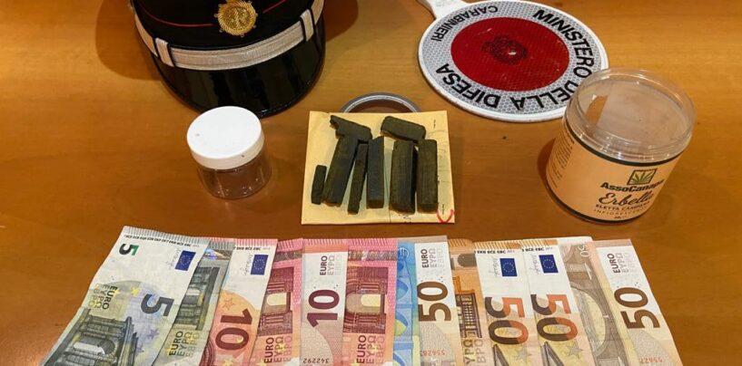 Benevento, spacciava hashish in pieno centro: fermato dai carabinieri
