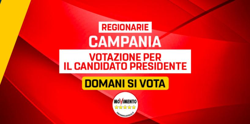 Regionali, in Campania il M5s corre da solo: da domani si vota per il candidato presidente