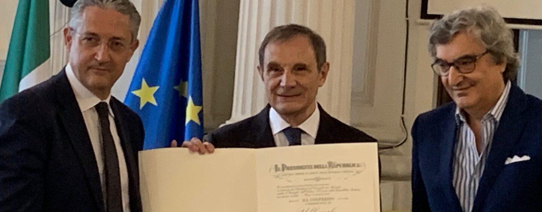 Il dottor Antonio De Vizia nominato da Mattarella Ufficiale al Merito
