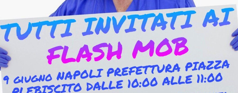 """""""Presi in giro e messi all'ultimo posto"""": il flash mob degli infermieri martedì ad Avellino"""