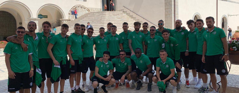 FOTO / Mercoledì i playoff, il lupo a Montevergine per la benedizione di Mamma Schiavona
