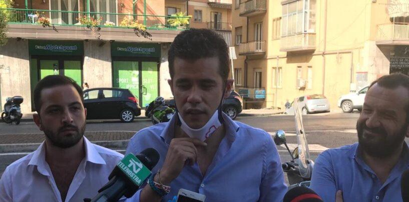"""""""La Lega garantirà liste pulite in Campania. De Luca? Fa solo chiacchiere"""". Dopo Salvini tappa di Crippa in città"""