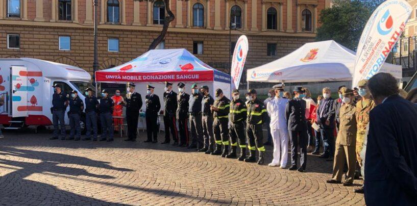 Sinergia e solidarietà: grande partecipazione all'iniziativa dei DonatoriNati della Polizia a Roma