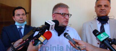 """""""Landolfi"""" Covid hospital, domani nuovo summit (via web) in Prefettura"""
