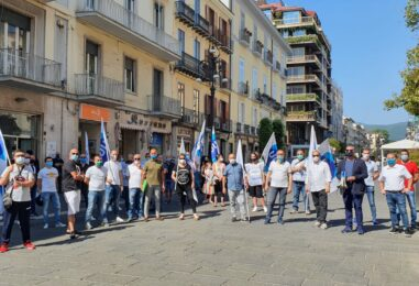 VIDEO/ Dramma occupazionale, Ugl in piazza anche ad Avellino