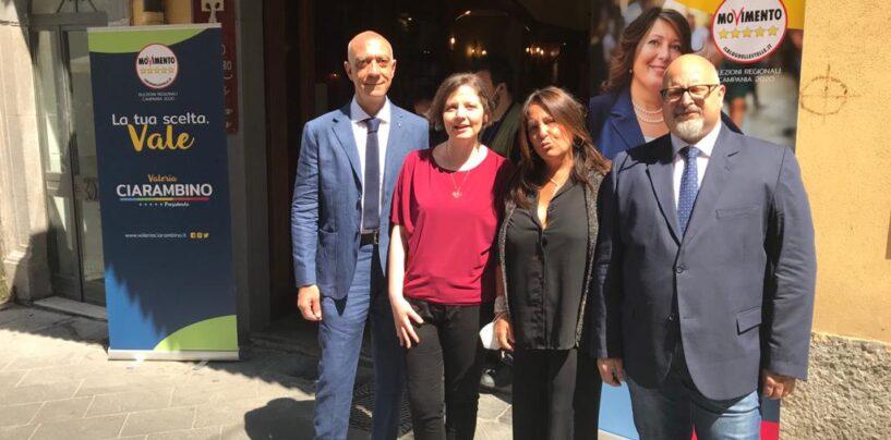 Regionali: il MoVimento 5 Stelle inaugura comitato elettorale a Montella