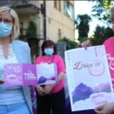 Video/Camminata Rosa in Drive In.Presentazione al Mivida
