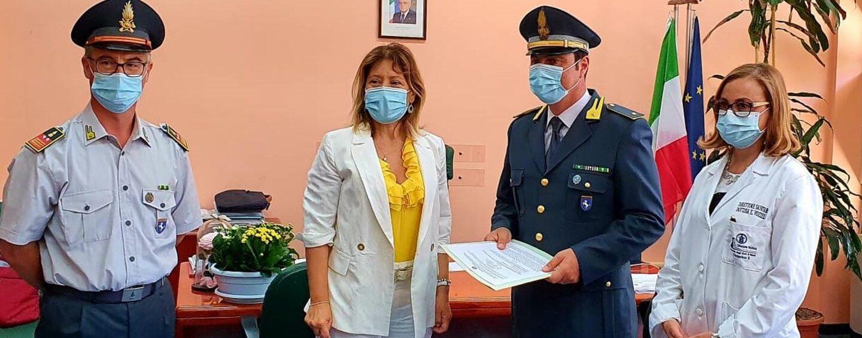 Gdf Napoli: alcool sequestrato nel 2019 donato all'azienda ospedaliera universitaria Federico II