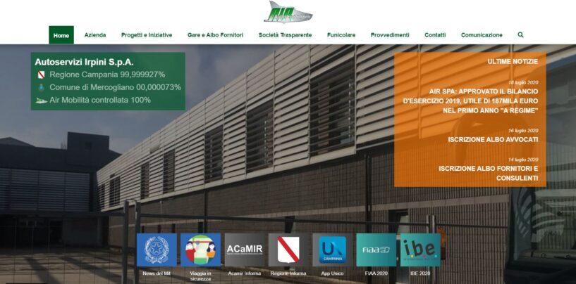 Air Spa, rivoluzione digitale: online il nuovo sito