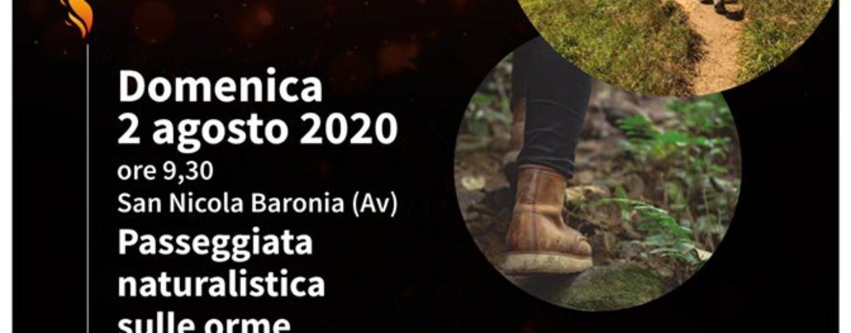"""Il progetto """"I falò della Baronia"""" riprende il suoi percorso con la """"Passeggiata naturalistica sulle orme dei briganti """""""
