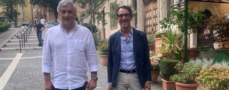 Regionali, tour di Tajani in Irpinia