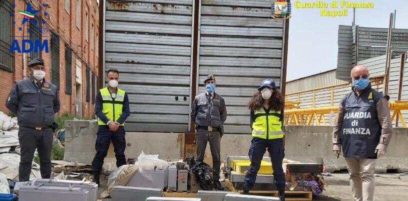 Napoli: sequestrate 42 tonnellate di rifiuti speciali